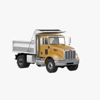 Peterbilt 348 Dump Truck