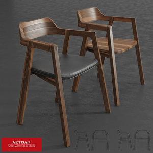 bura chair 3d max