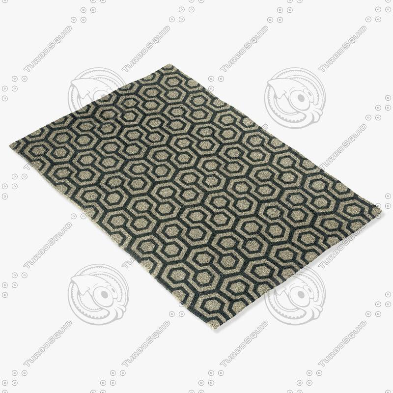 3d model capel rugs 4728 375f