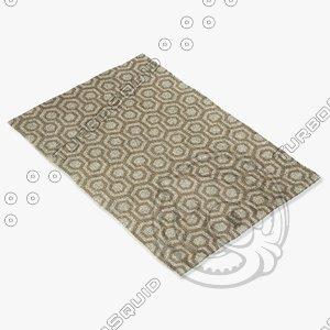 3d model capel rugs 4728 675f