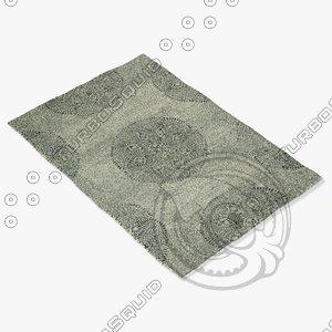 3d capel rugs 4732 330f model