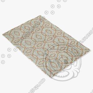 3d capel rugs 4733 825f model