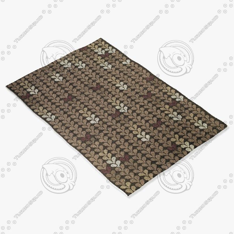 3d capel rugs 6056 330f model