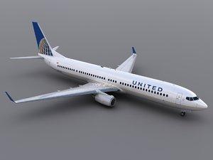 aircraft united max