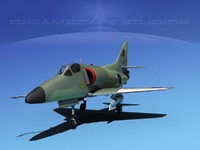 x douglas skyhawk a-4 a-4d