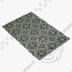 capel rugs 6057 400f 3d model