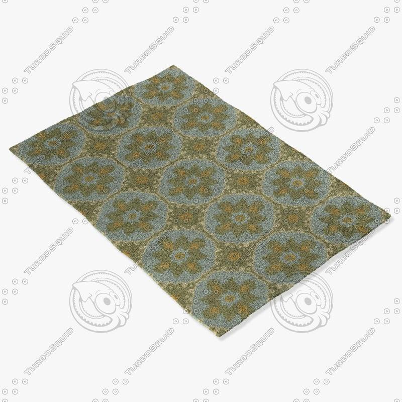 capel rugs 6057 725f 3d model