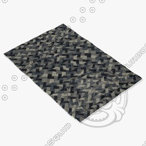 capel rugs 6058 300f 3d 3ds