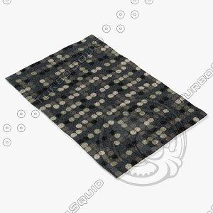 3d model capel rugs 6060 350f