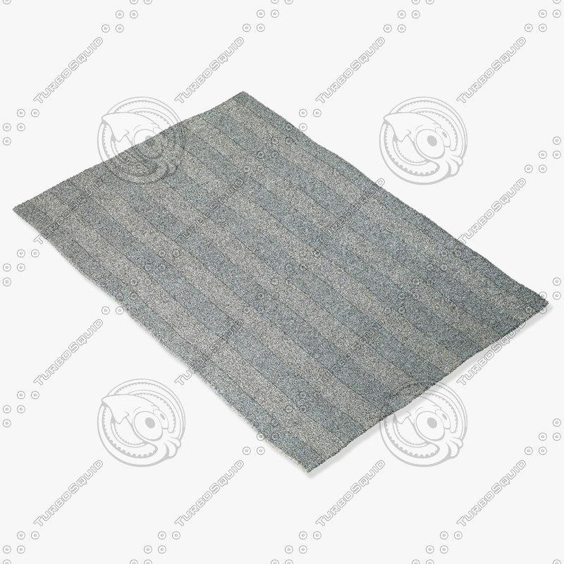 3d model capel rugs 6952 300f