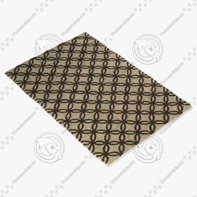 3d capel rugs 9223 770f model