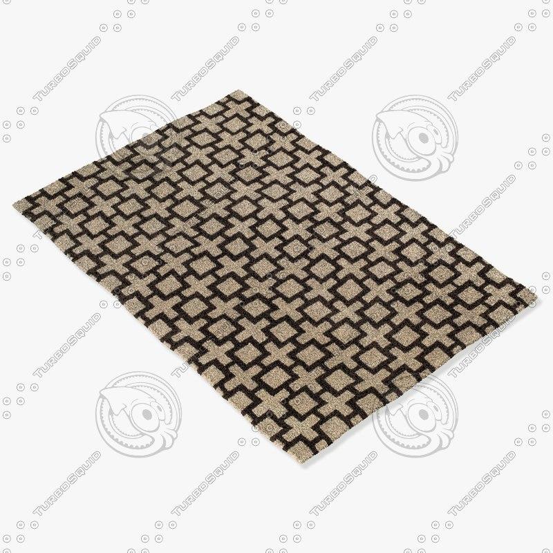 capel rugs 9224 770f 3d max
