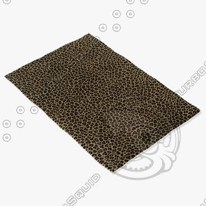 3d model of capel rugs 9290 700f