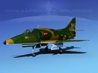 skyhawk douglas a-4 a-4g 3ds