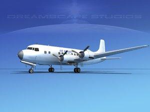 propellers douglas dc-6 air 3ds