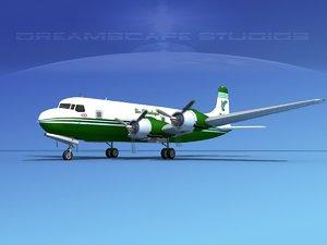 3ds propellers douglas dc-6 air