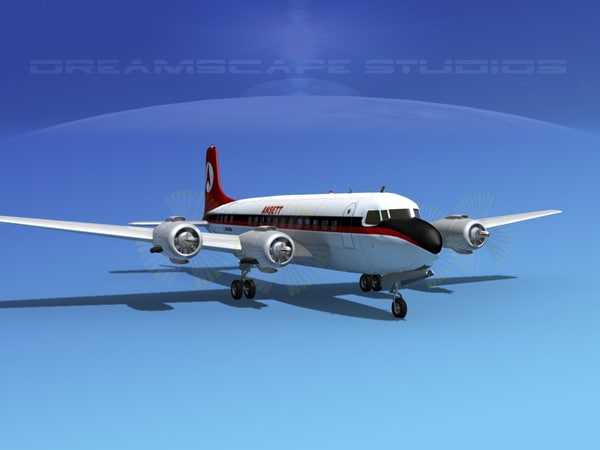 propellers douglas dc-6 3ds