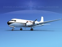 3d propellers douglas dc-6 air