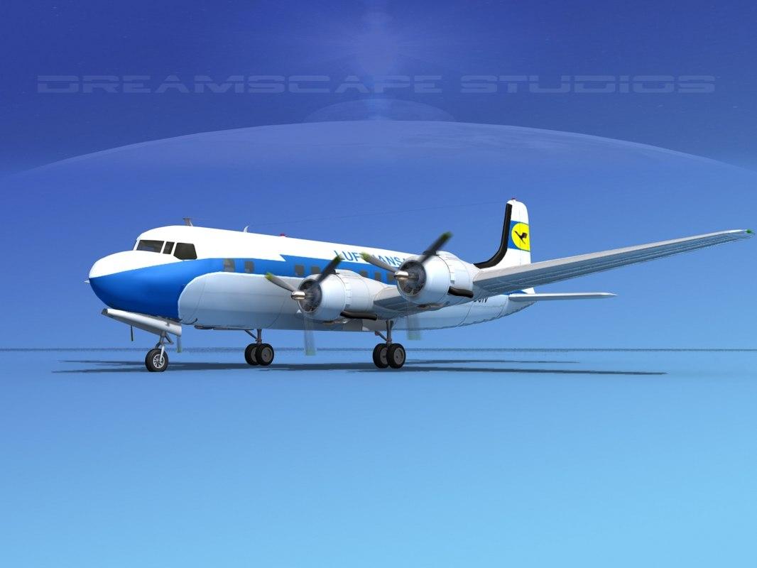 3d propellers douglas dc-6