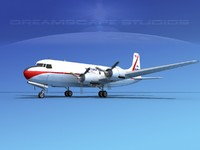 max propellers douglas dc-6 commercial cargo