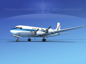 max propellers douglas dc-6 united