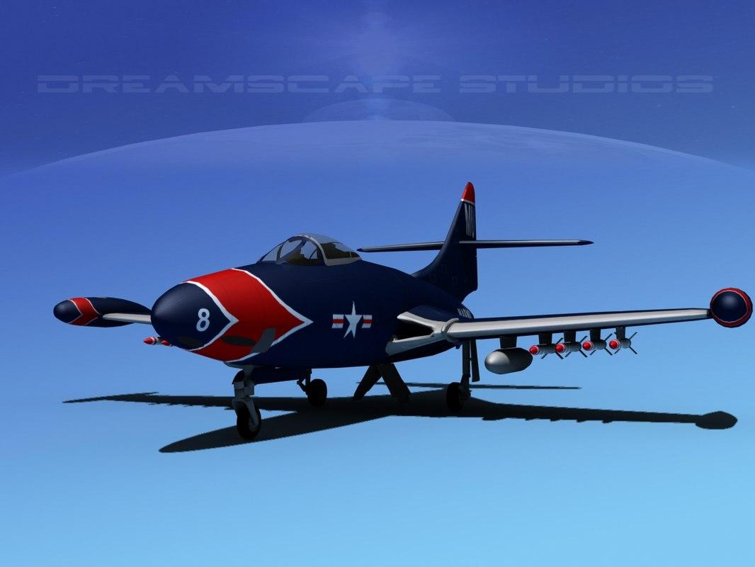 3d panther f9f f9f-5 model