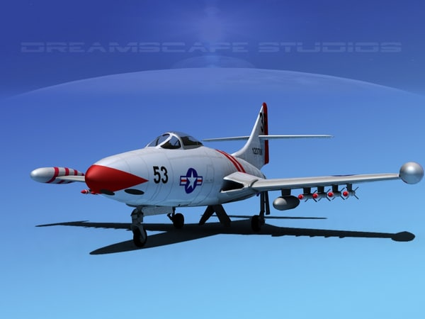 3d panther f9f jet fighter