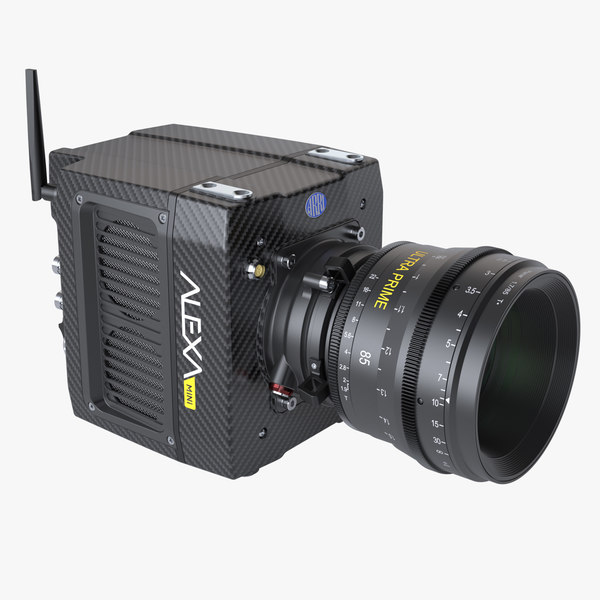 photoreal camera arri alexa 3d model