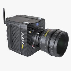 photoreal camera arri alexa 3d model