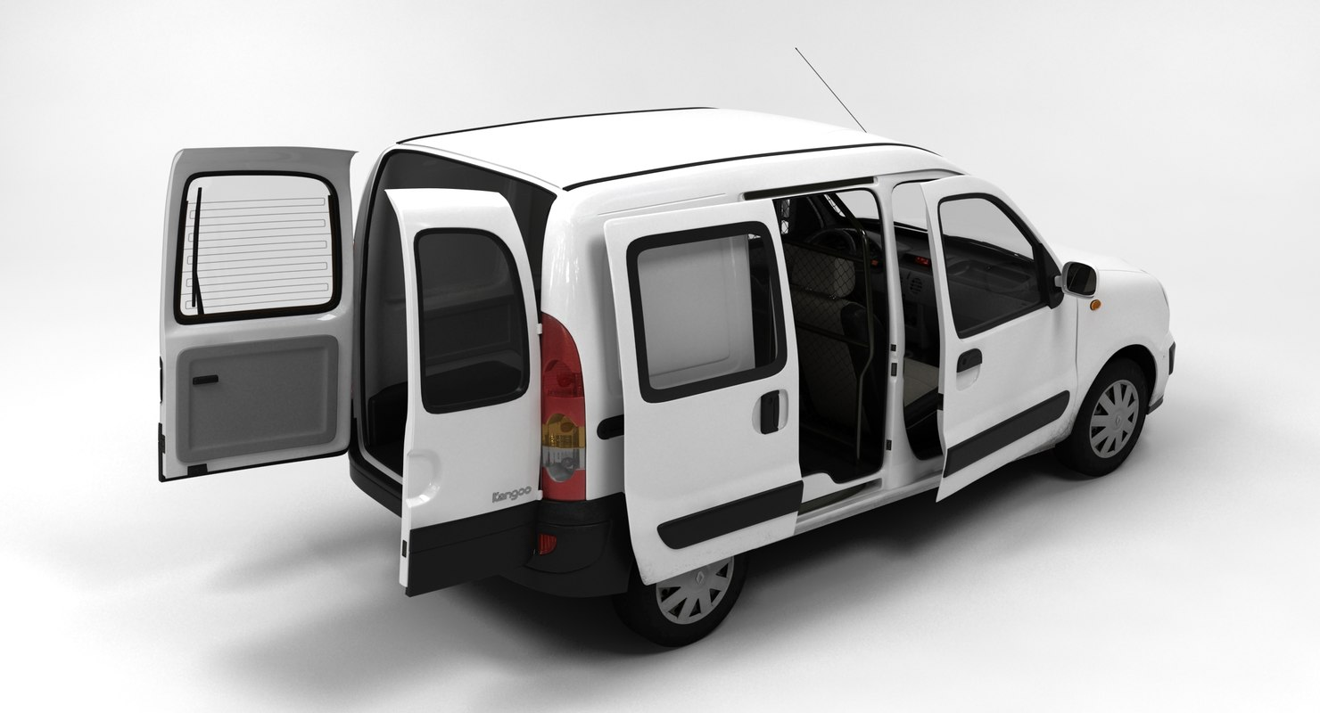 renault kangoo express 3d max. Black Bedroom Furniture Sets. Home Design Ideas