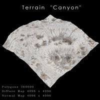 max canyon terrain