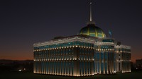 Ak Orda President of Kasahstan palace