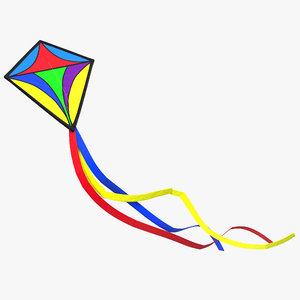 3d kite 2 model