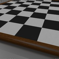 3d model chessboard blender cycles