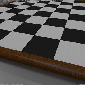 3d model chessboard blender cycles