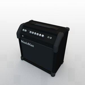 3d guitar amplifier