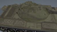t-54 tank 3d c4d