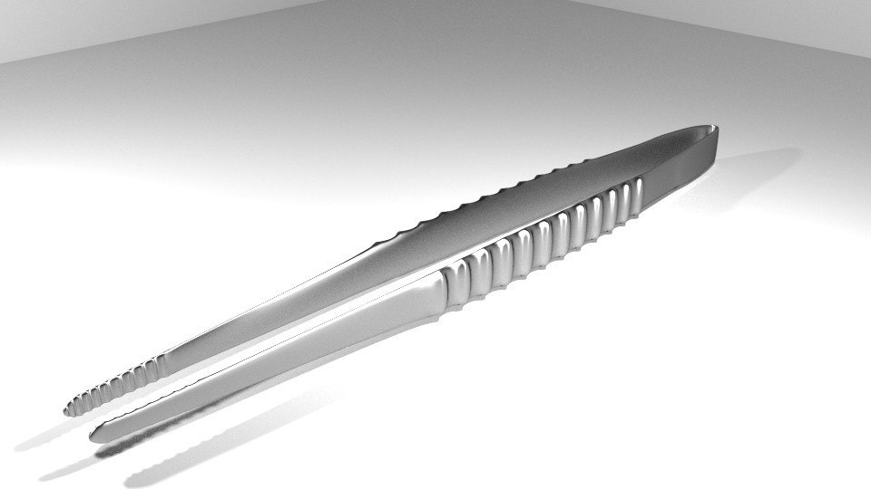 forceps medical equipment 3d 3ds