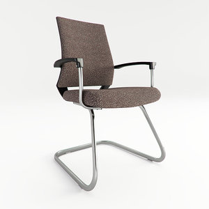 office florence chair 3d model