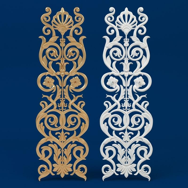 max classic decorative ornament arabesque