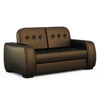 sofa taun 3d obj