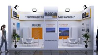 3d model fair stand - aegean