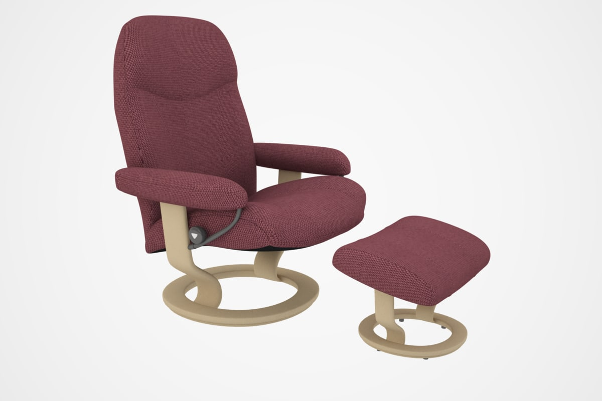 3d model of consul chair