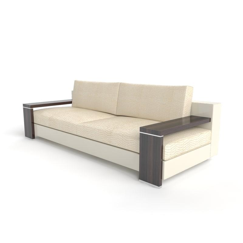 sofa factory turri contemporary 3d max