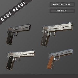 3ds max gun