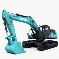 max excavator kobelco