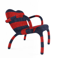 chair bertjan pot red 3ds