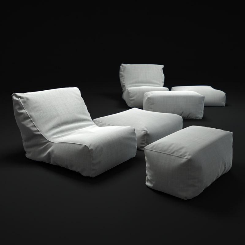 3d club-lounge-chair