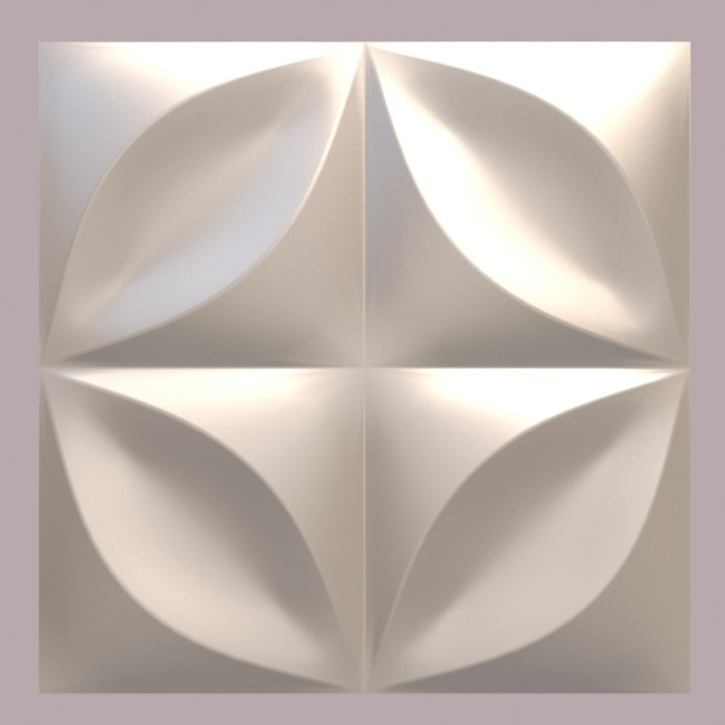 Decorative Wall Panel 3d Max