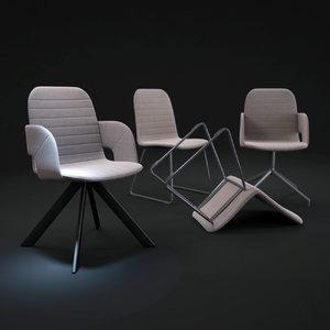 flux-chair 3d model